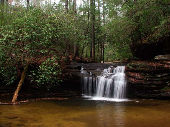 Table Rock State Park Is Best Known For Picturesque Mountain However The Also Home To Numerous Small Waterfalls