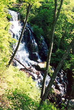 Issaqueena Falls on Nature Route in South Carolina National Heritage Corridor